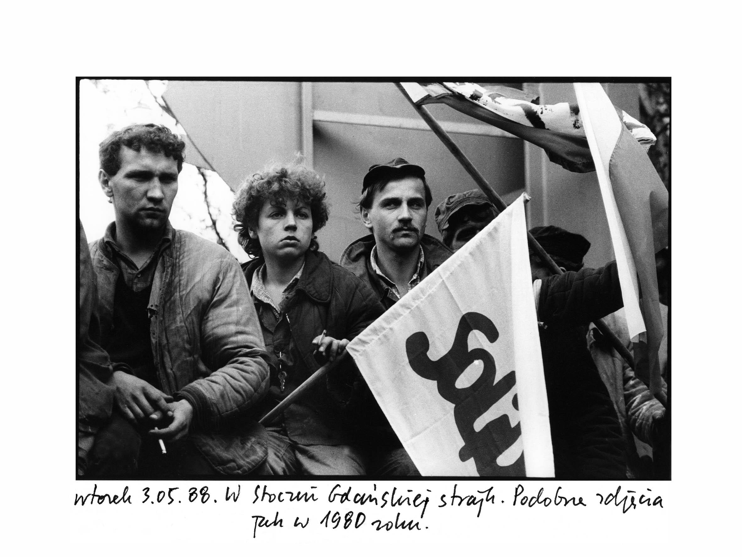 Gdansk Shipyard Strike